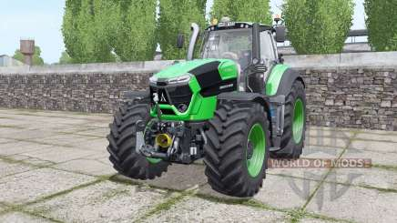 Deutz-Fahr Agrotron 9310 TTV real sounds engine for Farming Simulator 2017