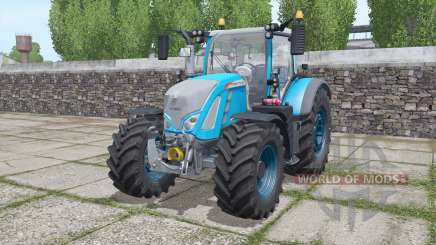 Fendt 714 Vario SCR configurable lightbeams for Farming Simulator 2017