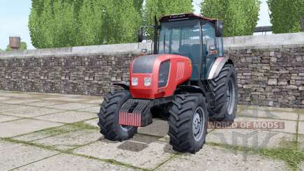 Belarus 2022.3 rear dual wheels for Farming Simulator 2017