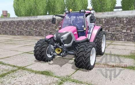 Lindner Lintrac 90 narrow twin wheels for Farming Simulator 2017