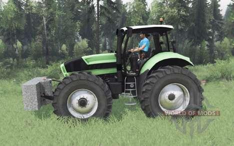 Deutz-Fᶏhr Agrotron X 720 for Spin Tires