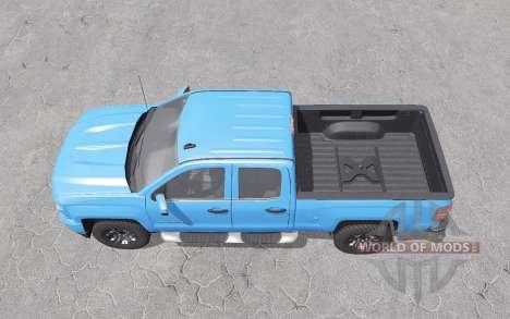 Chevrolet Silverado Z71 Double Cab 2016 for Farming Simulator 2017
