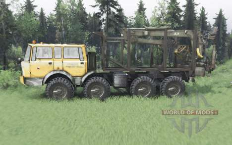 Tatra T813 TP 8x8 1967 winter v1.6 for Spin Tires