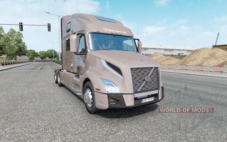 Volvo VNL 860 2017 v2.1.7 for Euro Truck Simulator 2
