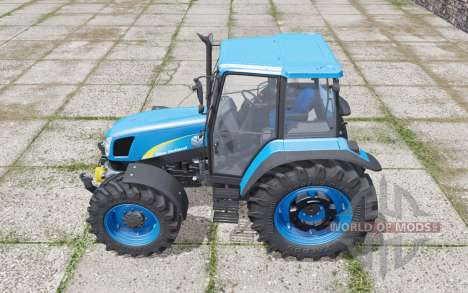 New Holland T5030 moving elements for Farming Simulator 2017
