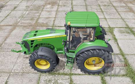 John Deere 8330 moving elements for Farming Simulator 2017