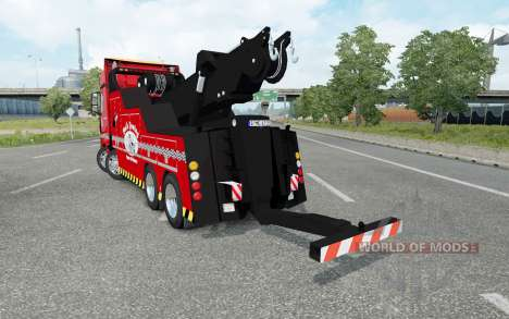 Mercedes-Benz Actros (MP4) Tow Truck for Euro Truck Simulator 2