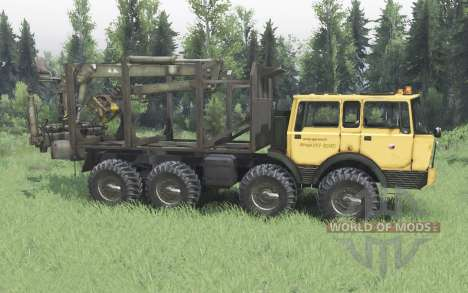 Tatra T813 TP 8x8 1967 Kings Off-Road 2 for Spin Tires