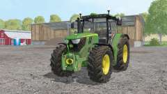 John Deere 6170R moving elements for Farming Simulator 2015