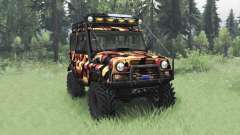 UAZ 31514 Tundra for Spin Tires