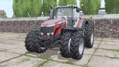 Massey Ferguson 8737 more options for Farming Simulator 2017