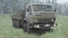 KamAZ 4310 dark gray-green for MudRunner