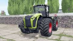 Claas Xerion 4000 engine configuration for Farming Simulator 2017