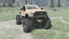 Dodge Ram 3500 Heavy Duty 2012 TTC for MudRunner