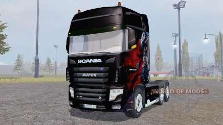 Scania R700 Evo Albator Edition for Farming Simulator 2013