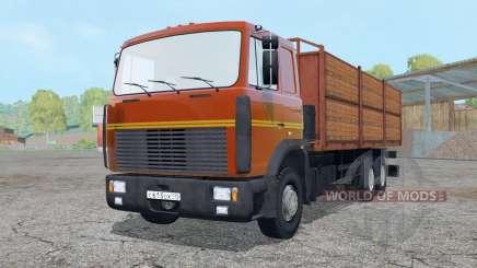 MAZ 6303 trailer for Farming Simulator 2015