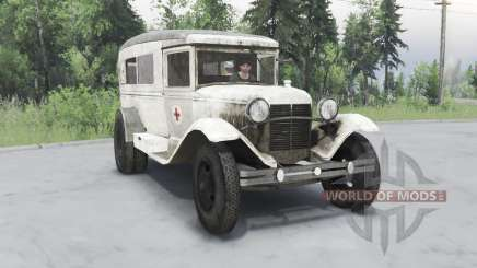 GAS 55 1938 Sanitary v1.5 for Spin Tires