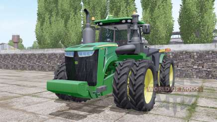 John Deere 9420R wheels selection for Farming Simulator 2017