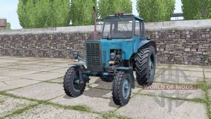 Belarus MTZ 80 moving elements for Farming Simulator 2017