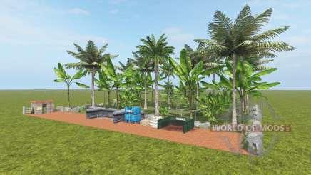 Fruit Farm - Coconut and Banana for Farming Simulator 2017