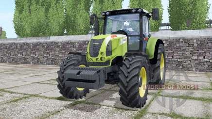 Claas Ariⱺn 640 for Farming Simulator 2017