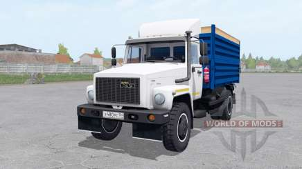 GAZ SAZ 35071 trailer SAZ 83173 for Farming Simulator 2017