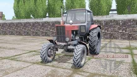 MTZ Belarus 82 old diesel for Farming Simulator 2017