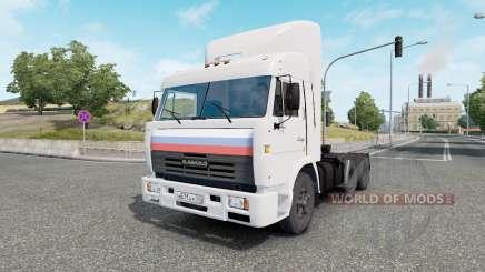 KamAZ 54115 Truck Drivers for Euro Truck Simulator 2