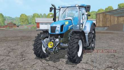 New Holland T6.175 wheels weights for Farming Simulator 2015