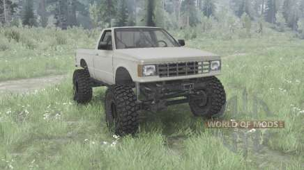 Chevrolet S-10 Single Cab 1984 for MudRunner