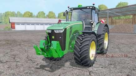 John Deere 8370R animation parts for Farming Simulator 2015