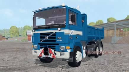 Volvo F12 tipper Meiller for Farming Simulator 2015