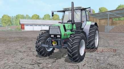 Deutz-Fahr AgroStar 6.61 dual rear wheels for Farming Simulator 2015