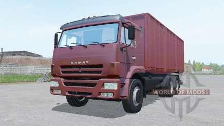 KamAZ 65117 trailer SZAP for Farming Simulator 2017