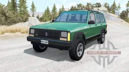 Jeep Cherokee (XJ) v1.1 for BeamNG Drive