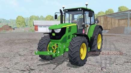 John Deere 6115M front loader for Farming Simulator 2015