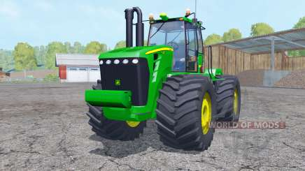 John Deere 9630 change wheels for Farming Simulator 2015