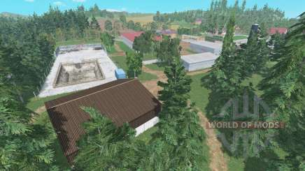 Hof Bergmann v1.1 for Farming Simulator 2015