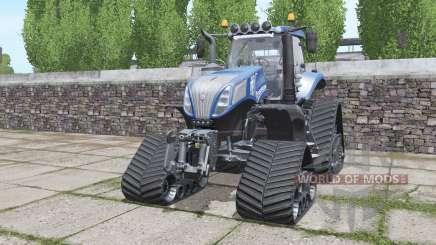 New Holland T8.420 crawler modules for Farming Simulator 2017