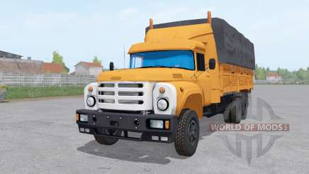 ZIL 6x6 133GÂ for Farming Simulator 2017