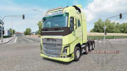 Volvo FH16 750 8x4 Globetrotter XL 2014 for Euro Truck Simulator 2