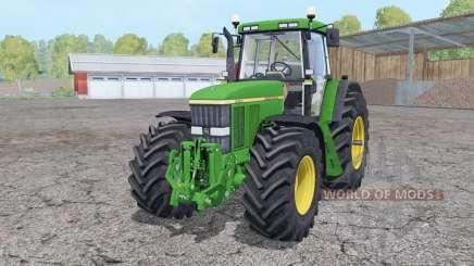 John Deere 7810 front loader for Farming Simulator 2015