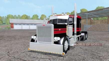 Peterbilt 379 Flat Top for Farming Simulator 2015