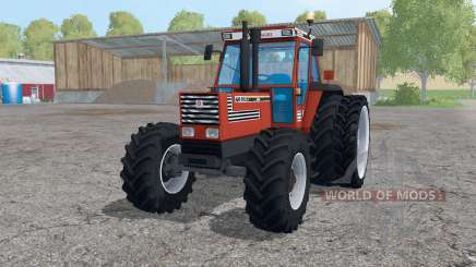 Fiat 160-90 Turbo DT dual rear wheels for Farming Simulator 2015