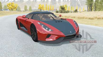 Koenigsegg Regera 2017 for BeamNG Drive