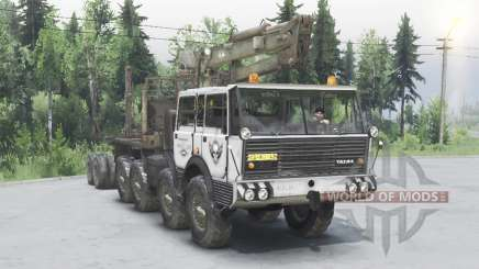 Tatra T813 TP 8x8 1967 Kings Off-Road 2 grey for Spin Tires