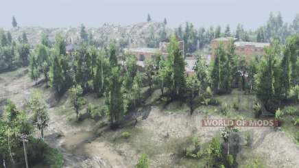 Deciduous forest v2.1.1 for Spin Tires