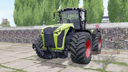 Claas Xerion 4000 engine configuration for Farming Simulator 2017