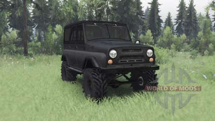 UAZ 469 dark grey v1.1 for Spin Tires