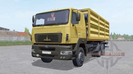 MAZ 6501A8-325-000 trailer MAZ 856103 for Farming Simulator 2017
